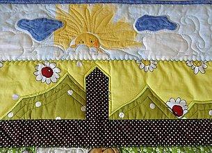 Úžitkový textil - Deka - ovečky v košiari - 5637739_
