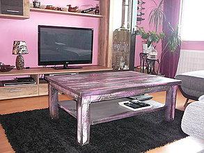 Nábytok - Konferenčný stolík č. 8 - 5639363_