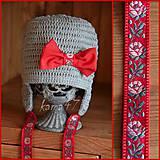 Detské čiapky - Prechodná ušianka ...