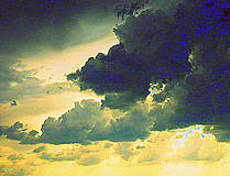 Grafika - Nahnevané oblaky - 5642485_