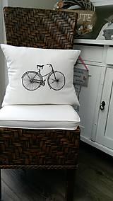 - Retro bicykel  2 \ obliečka + vankúšik - 5641951_