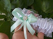 - svadobný podväzok s vôňou mentolu - 5641489_