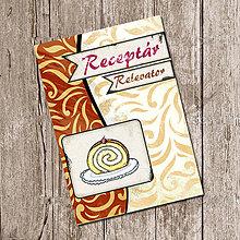 Papiernictvo - Vintage receptár - roláda - 5640391_