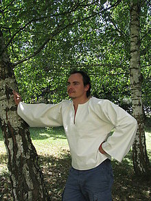 Oblečenie - Pánska Natur košeľa - p - 5643301_