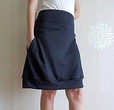 Tehotenské oblečenie - *Pohodlná s kapsičkami (i pro těhu)* - 5643697_
