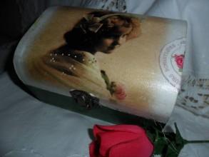 Krabičky - Šperkovnička dievčatko - 5644142_
