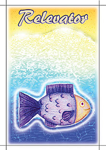 Detské doplnky - Linajková podložka Morský svet s vlastným menom (ryba) - 5644321_