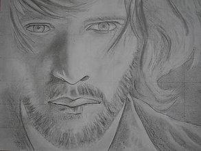 Kresby - Kresba - Vychádzam z hmly - 5645095_
