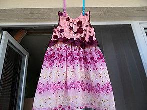 Detské oblečenie - ľahké šatôčky - 5646248_