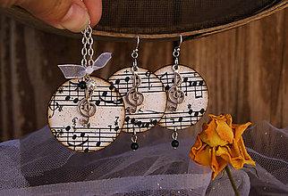 Sady šperkov - Stará hudba / sada - 5645788_