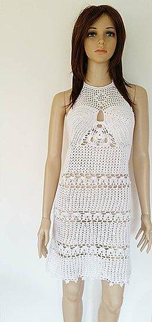 Šaty - Letné šaty v bielom...♥ - 5647382_