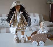 Bábiky - Renata v klobúku ... - 5647406_