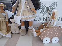 Bábiky - Renata v klobúku ... - 5647407_