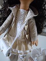 Bábiky - Renata v klobúku ... - 5647419_