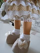 Bábiky - Renata v klobúku ... - 5647421_
