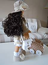 Bábiky - Renata v klobúku ... - 5647423_
