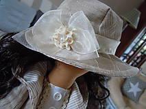 Bábiky - Renata v klobúku ... - 5647424_