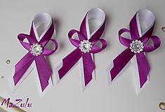 purpurová & biela / malé /