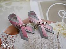Pierka - svadobné pierko s kľúčikom pre šťastie - 5649635_