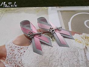 Pierka - svadobné pierko s kľúčikom pre šťastie - 5649634_