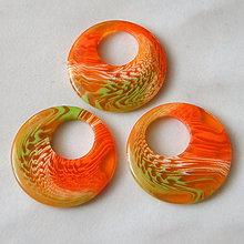 Korálky - Prívesok plast 25x3mm-1ks - 5647070_