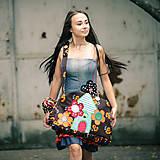 Veľké tašky - Origo taška kvety dom. - 5650134_