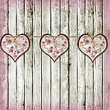 Tabuľky - Romantická srdiečková girlanda na svadbu 14 - 5648144_