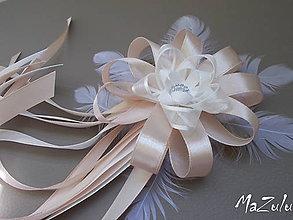 Pierka - svadobné pierko pre starejšieho latté - 5652491_
