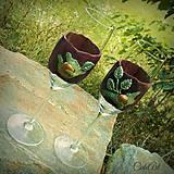 Zamilované - svadobné poháre (2 ks) bez textu