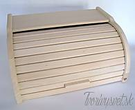Polotovary - Drevený chlebník - 5650555_
