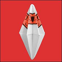 Dekorácie - Vianočný špic s čipkou/pruhom červený NA ZÁKAZKU - 5652711_