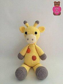 Hračky - Žirafka Saška - 5655933_