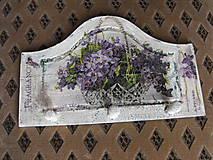 Nábytok - vešiak fialky - 5655648_