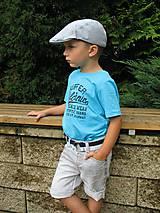 Detské čiapky - Bekovka prúžkovaná - 5657226_