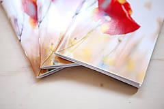 Papiernictvo - Makový zápisník A5 - 5656356_