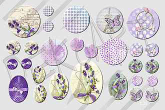 Materiál ručne robený - Motívy na šperky č. 35- akcia 4+1zdarma na všetky motívy - 5656085_