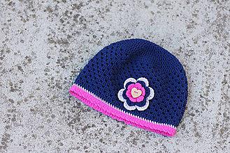 Detské čiapky - prechodná čiapka - 5657105_