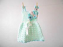 Detské oblečenie - Bledunko zelenkavé....  - 5655804_