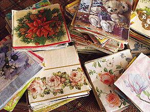Papier - Zbierka servitiek 750 kusov - 5658237_