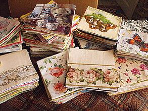 Papier - Zbierka servitiek 600 kusov - 5658241_