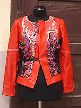 Kabáty - Kabátik, sako, kožené - 5658826_