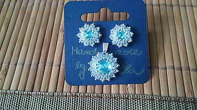 Sady šperkov - Snehová vločka - 5660813_
