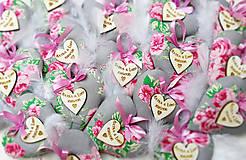 Darčeky pre svadobčanov - svadobné levanduľové srdiečka - 5660653_