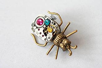 Odznaky/Brošne - Bronze Beetle - 5659306_