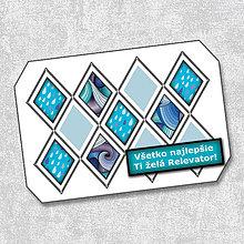 Papiernictvo - Pohľadnica kosoštvorcová 3 - 5660317_