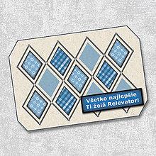 Papiernictvo - Pohľadnica kosoštvorcová 6 - 5660477_