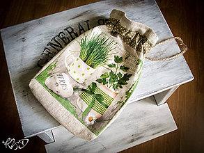 Úžitkový textil - Vrecko na bylinky No.6 - 5661743_