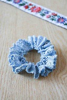 Ozdoby do vlasov - .nežná modrá - 5662990_