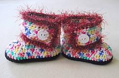 Topánočky - Cukríkové čižmičky - 5661680_