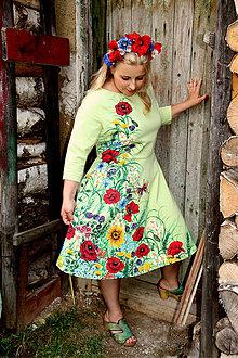 Šaty - Maľba na šatách... - 5661123_